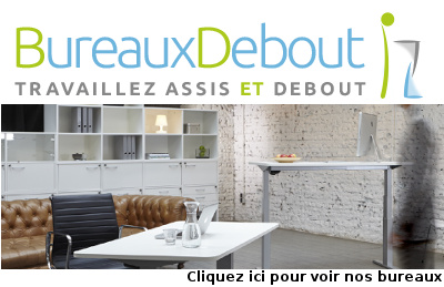 bureau debout le site de r f rence sur la sant et la position assise ou debout au travail. Black Bedroom Furniture Sets. Home Design Ideas