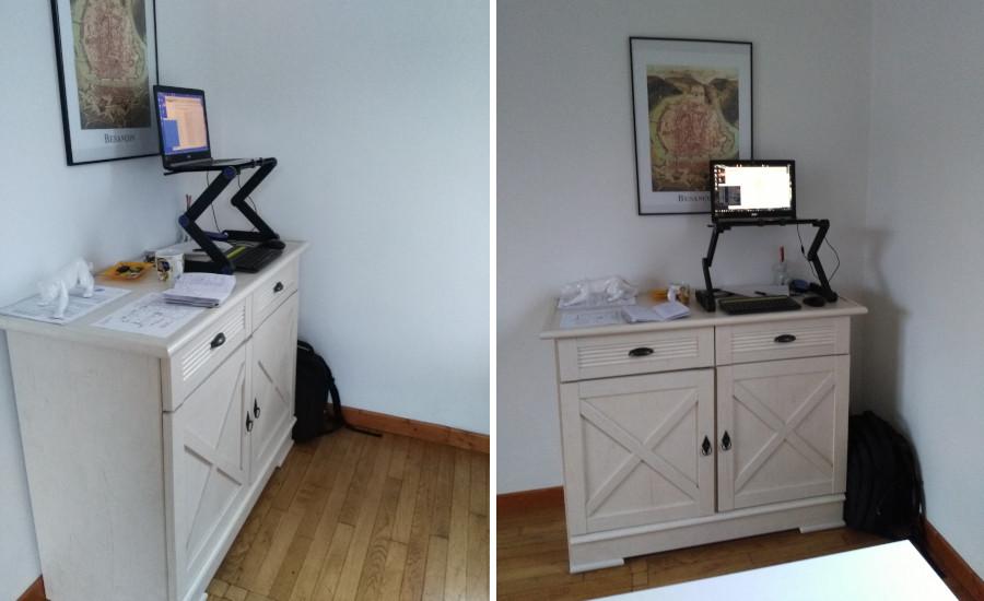 Comment fabriquer votre bureau debout